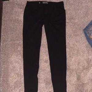 Size 9 Celebrity Pink black skinny pants